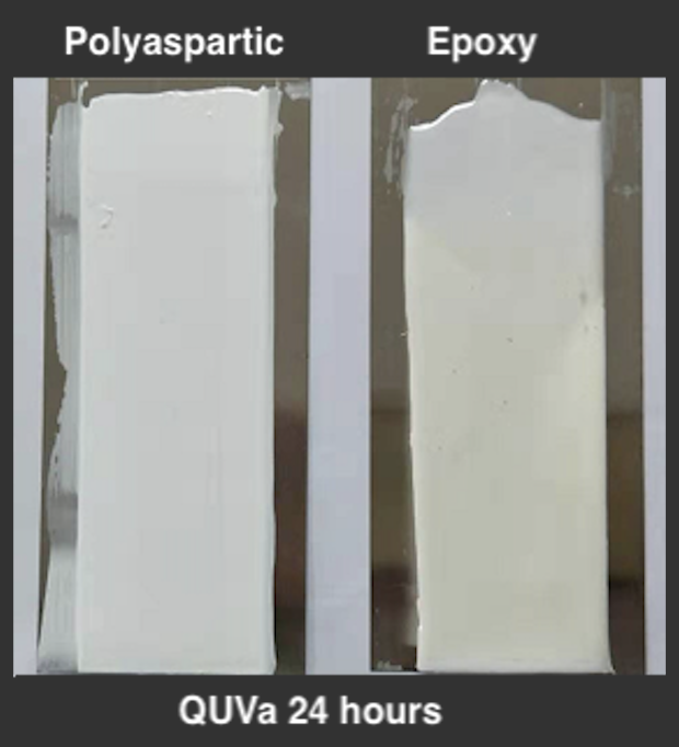 Why polyaspartic grout is best choice for ourdoor? As polyasparitc tile grout is super weather resistance
