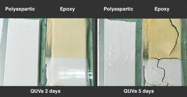 Why polyapsartic tile grout is best choice for light color grout? Check the testing report here